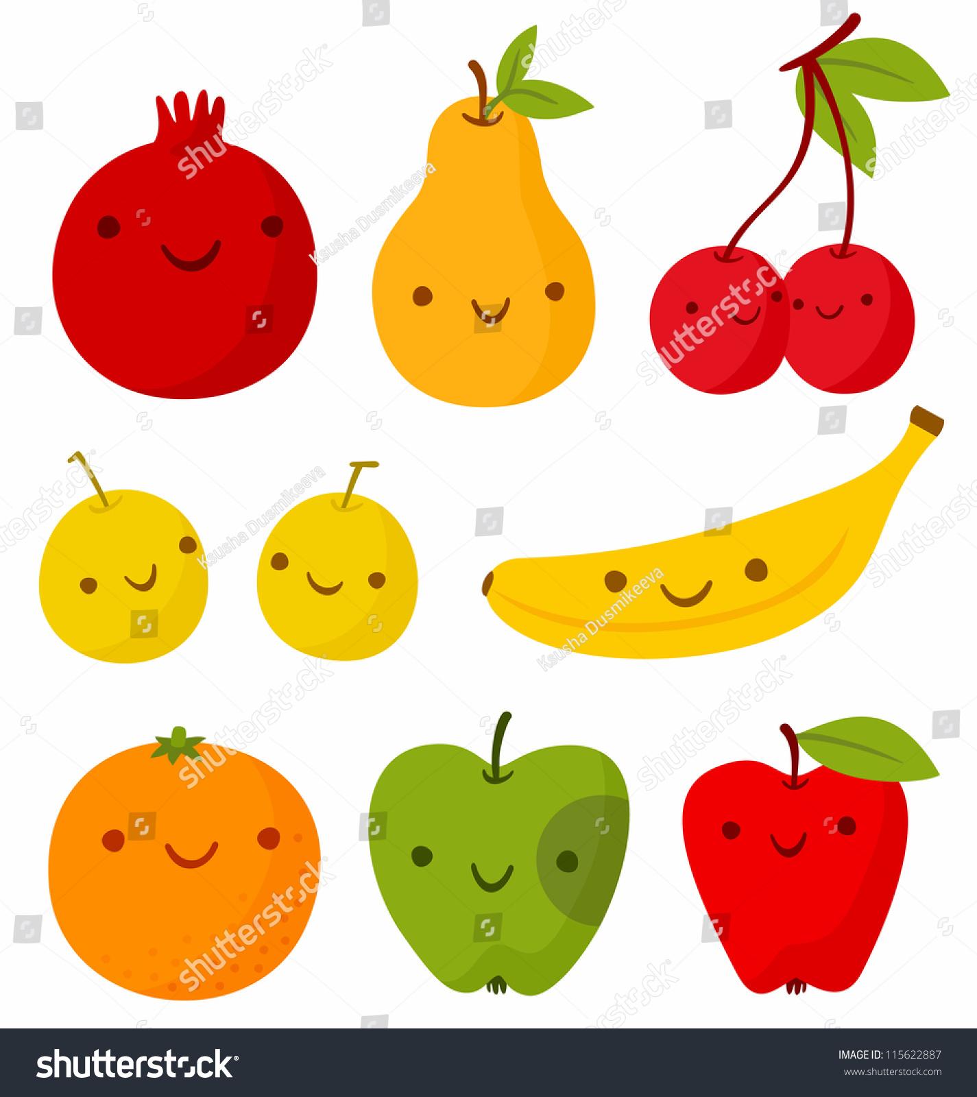 Cute fruit art