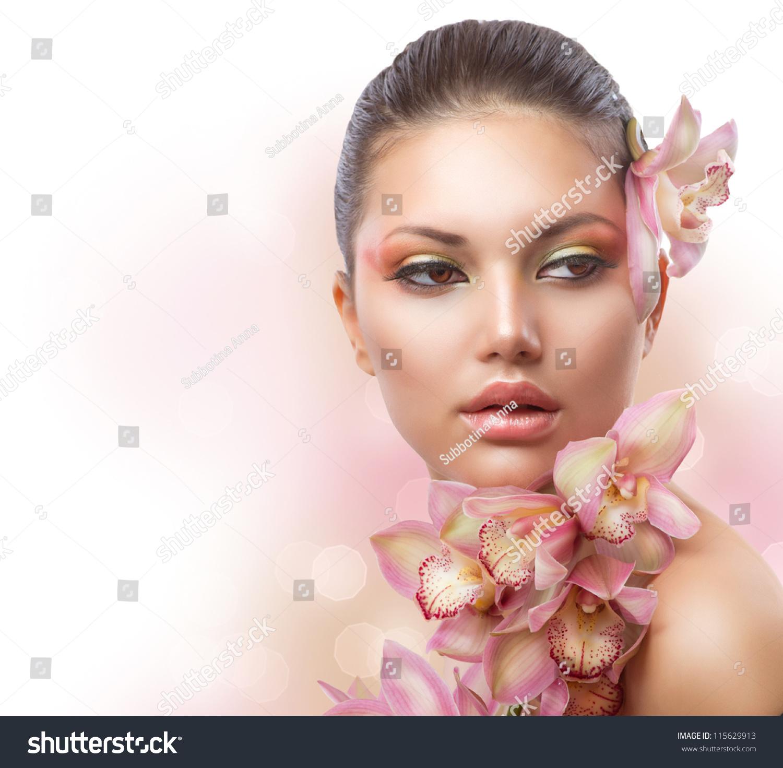 beauty girl face make - photo #29