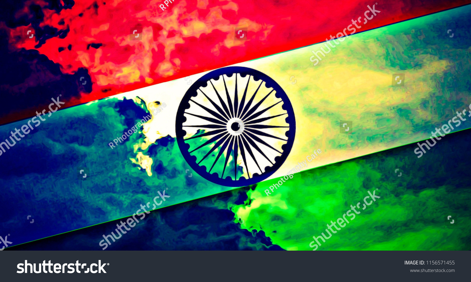 indian flag hd wallpaper stock illustration 1156571455 - shutterstock