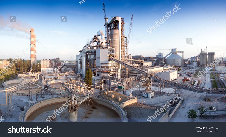 Idaho Cement Plants : Cement plant stock photo shutterstock