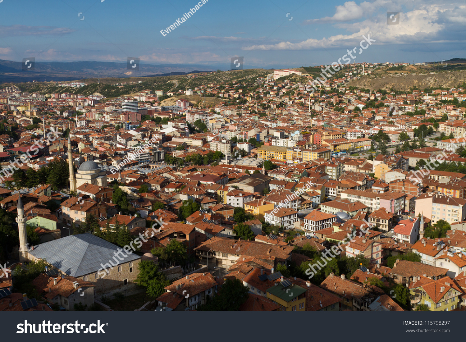 Kastamonu Turkey  city photos gallery : Cityscape Of Kastamonu, Turkey Stock Photo 115798297 : Shutterstock