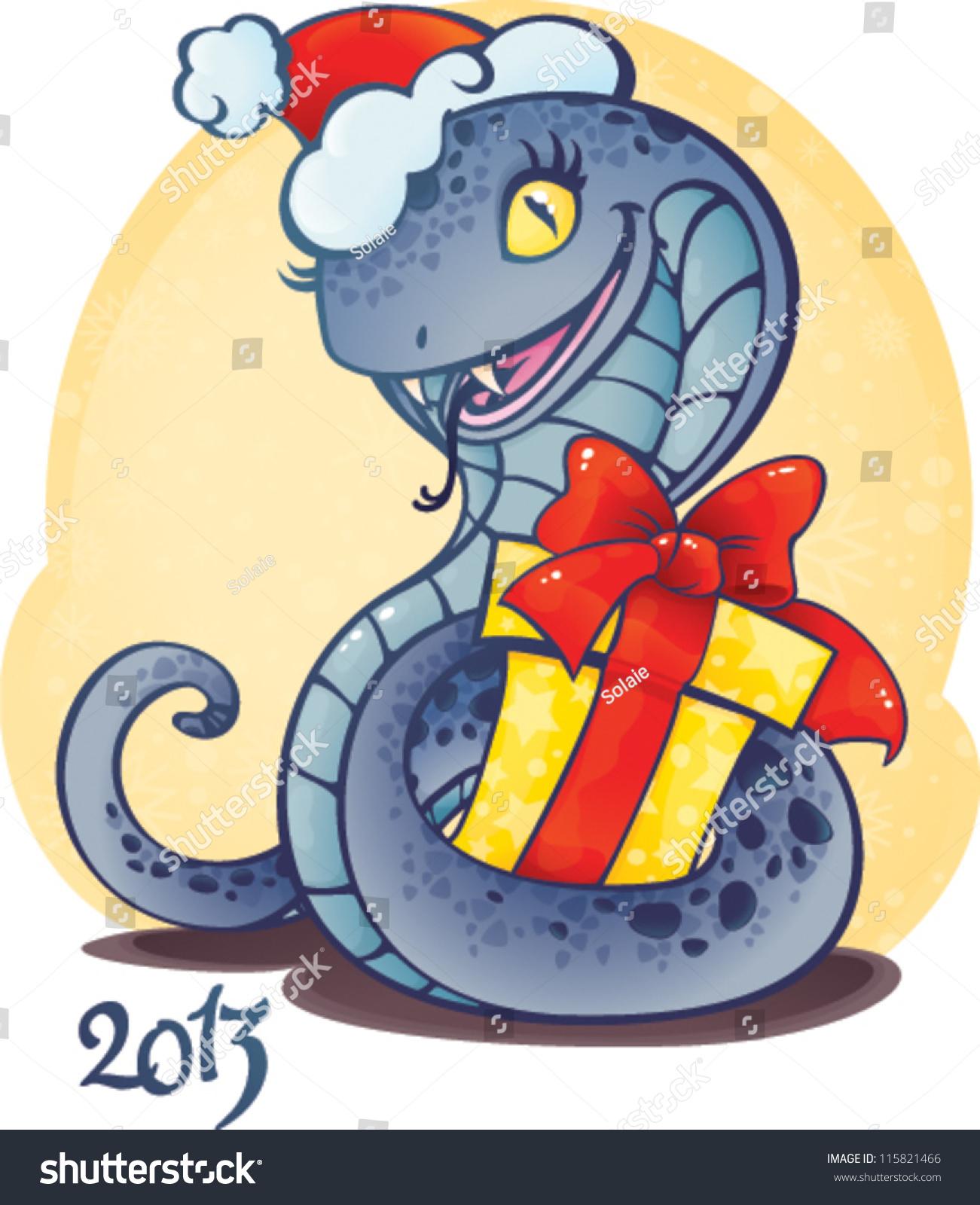 Cute snake symbol chinese horoscope new stock vector 115821466 cute snake symbol of chinese horoscope for new 2013 year biocorpaavc