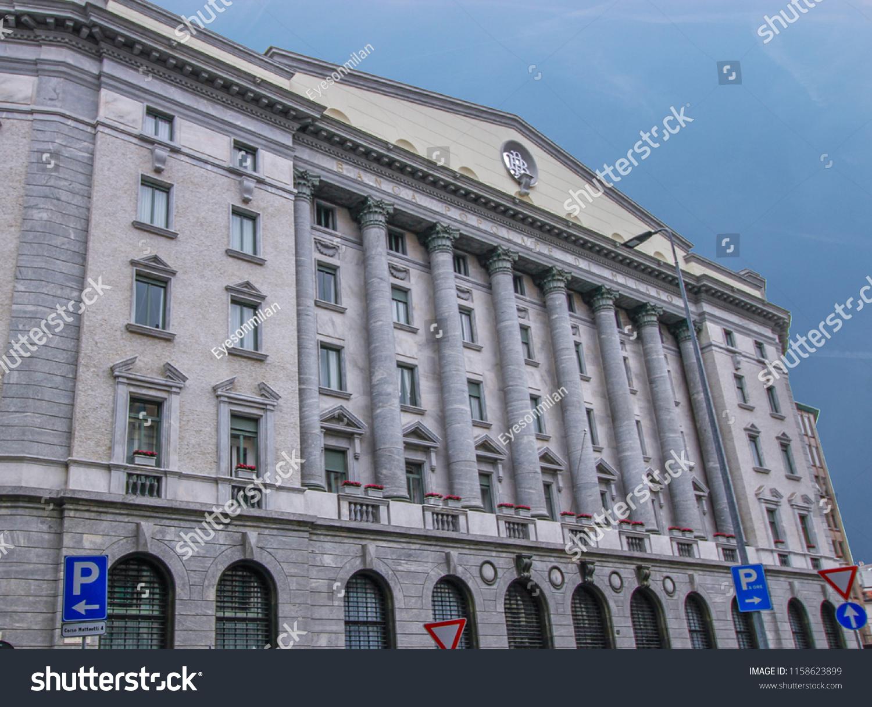 Banca Popolare Di Milano Banco Bpm Stock Photo Edit Now 1158623899