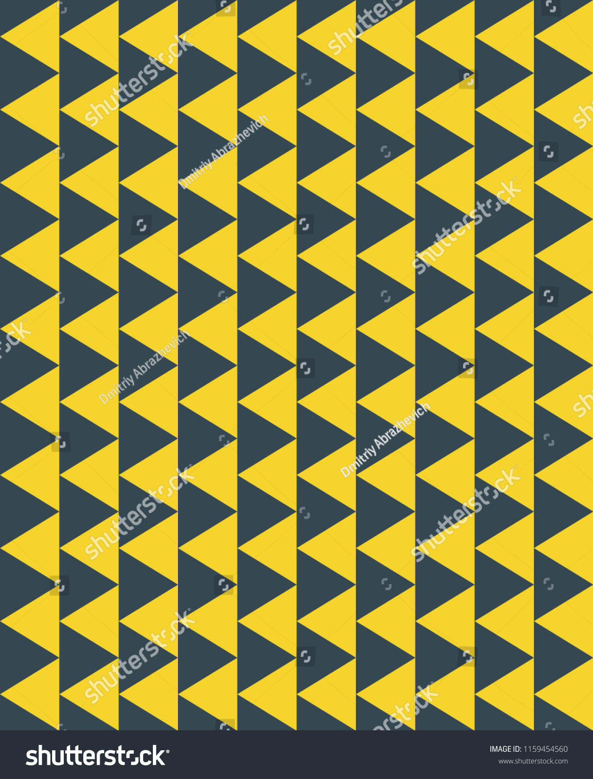minimal vector cover triangles linear banner stock vector royalty