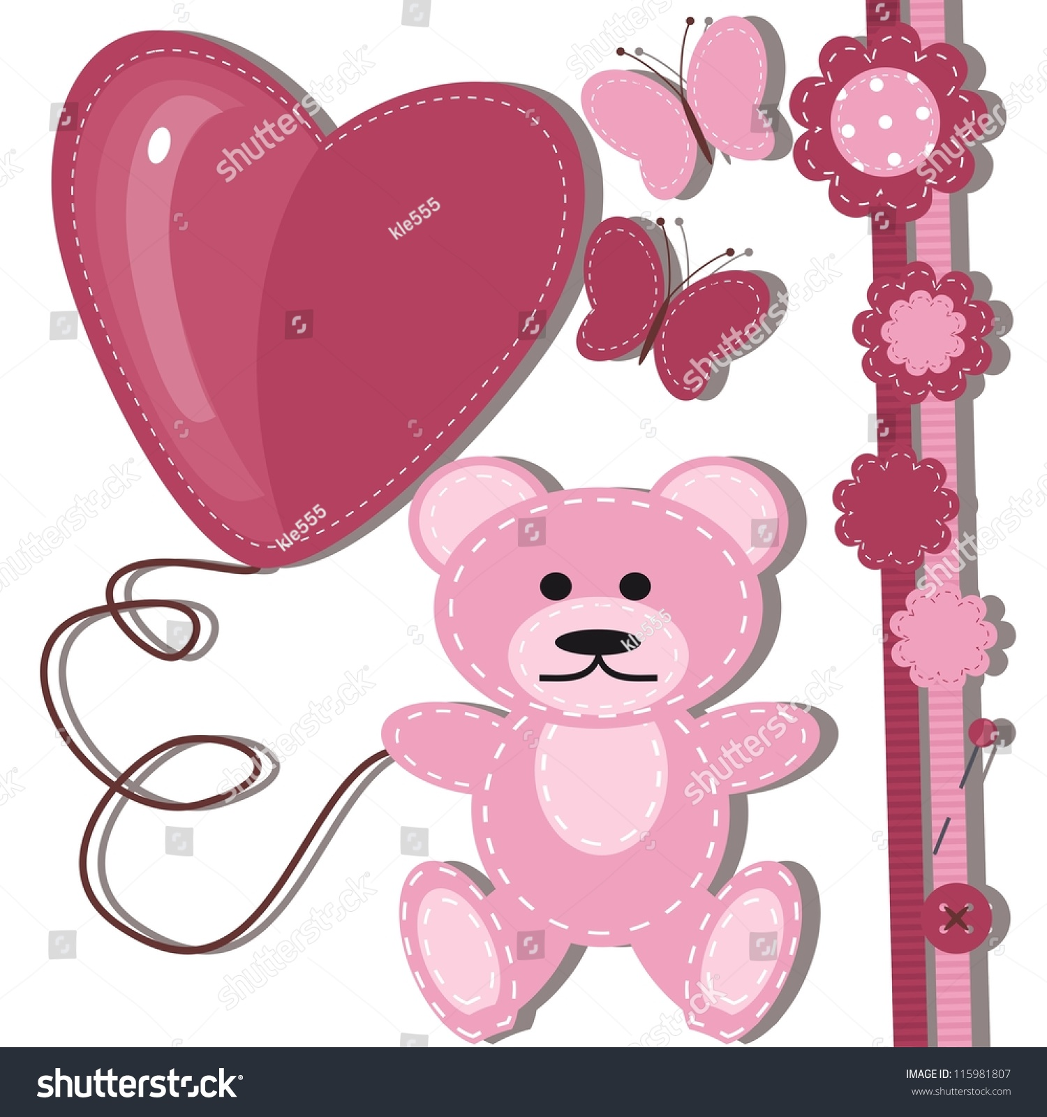 Greeting Card For Baby With Teddy Bear Ez Canvas