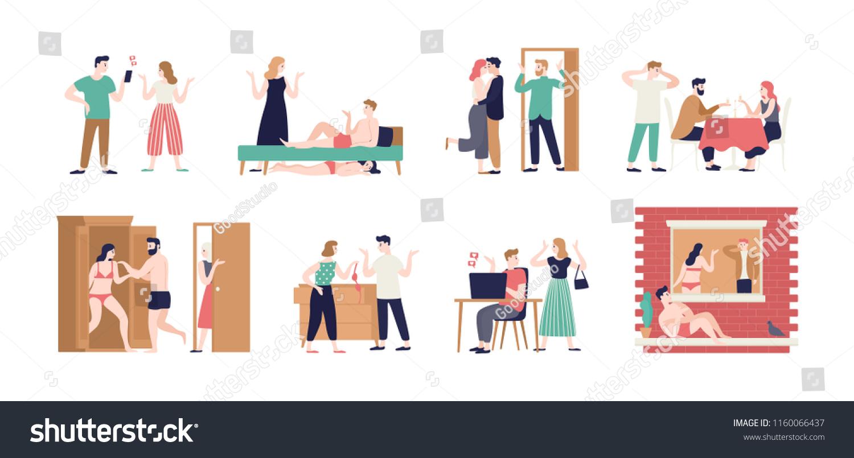 Manžel datování během oddělení