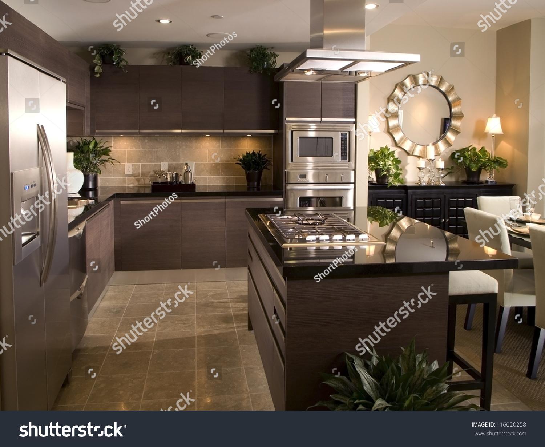 Kitchen Interior Design Architecture Stock ImagesPhotos Of Living Room BathroomKitchen