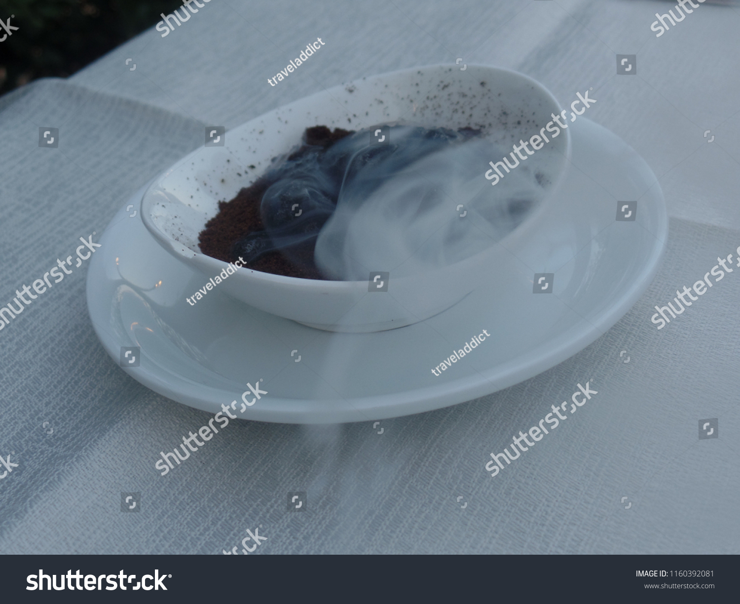 Smoke Used Wasp Deterrent On Outdoor Stock Photo Edit Now 1160392081