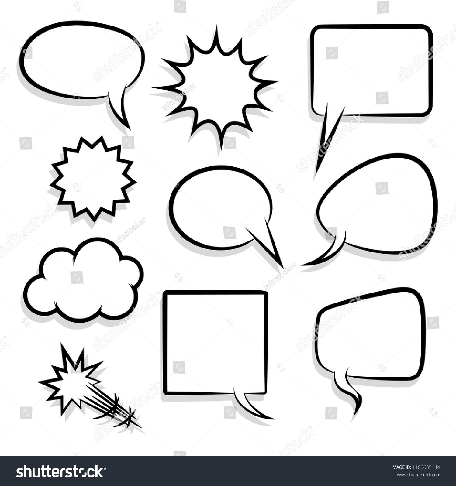 スケッチアイデアの会話スケッチの展開をアナウンスします。コミック ...