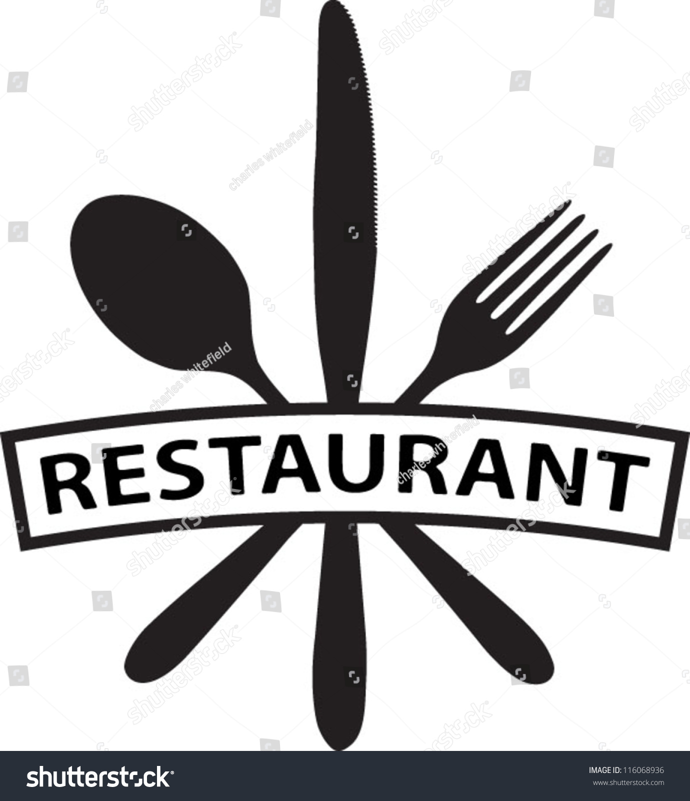 Restaurant Icon Symbols