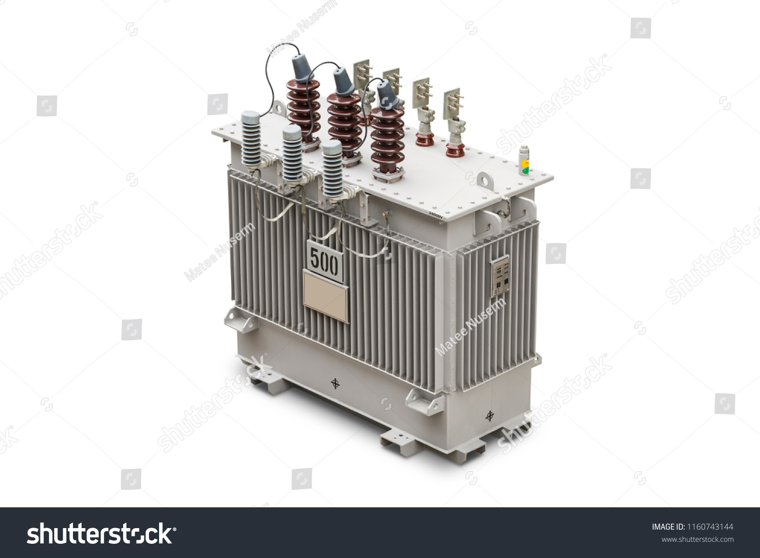 Three Phase 500 Kva Hermetic Sealed Stock Photo (Edit Now