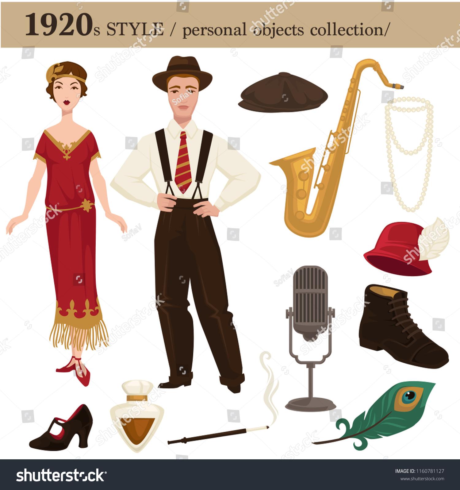Moda masculina 1920