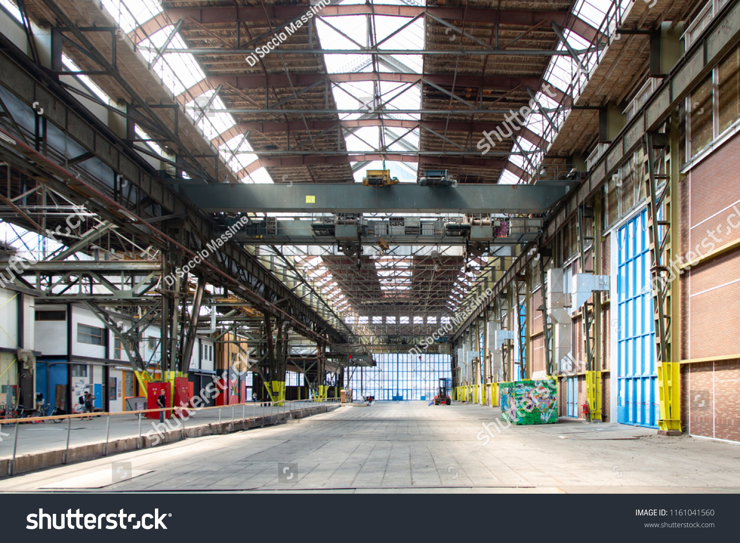Amsterdam Holland 05202018 Ndsm Wharf Shed Stock Photo (Edit