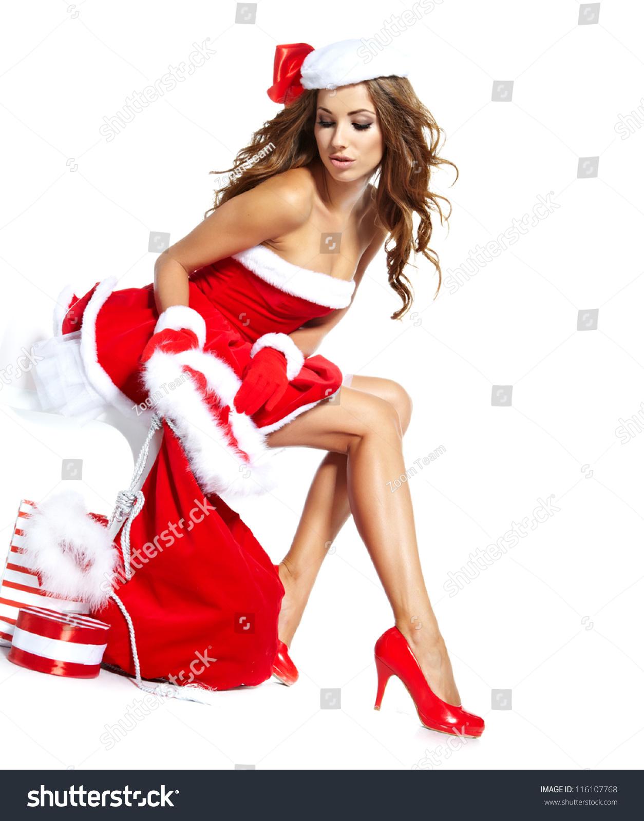 Hot sexy santa girls