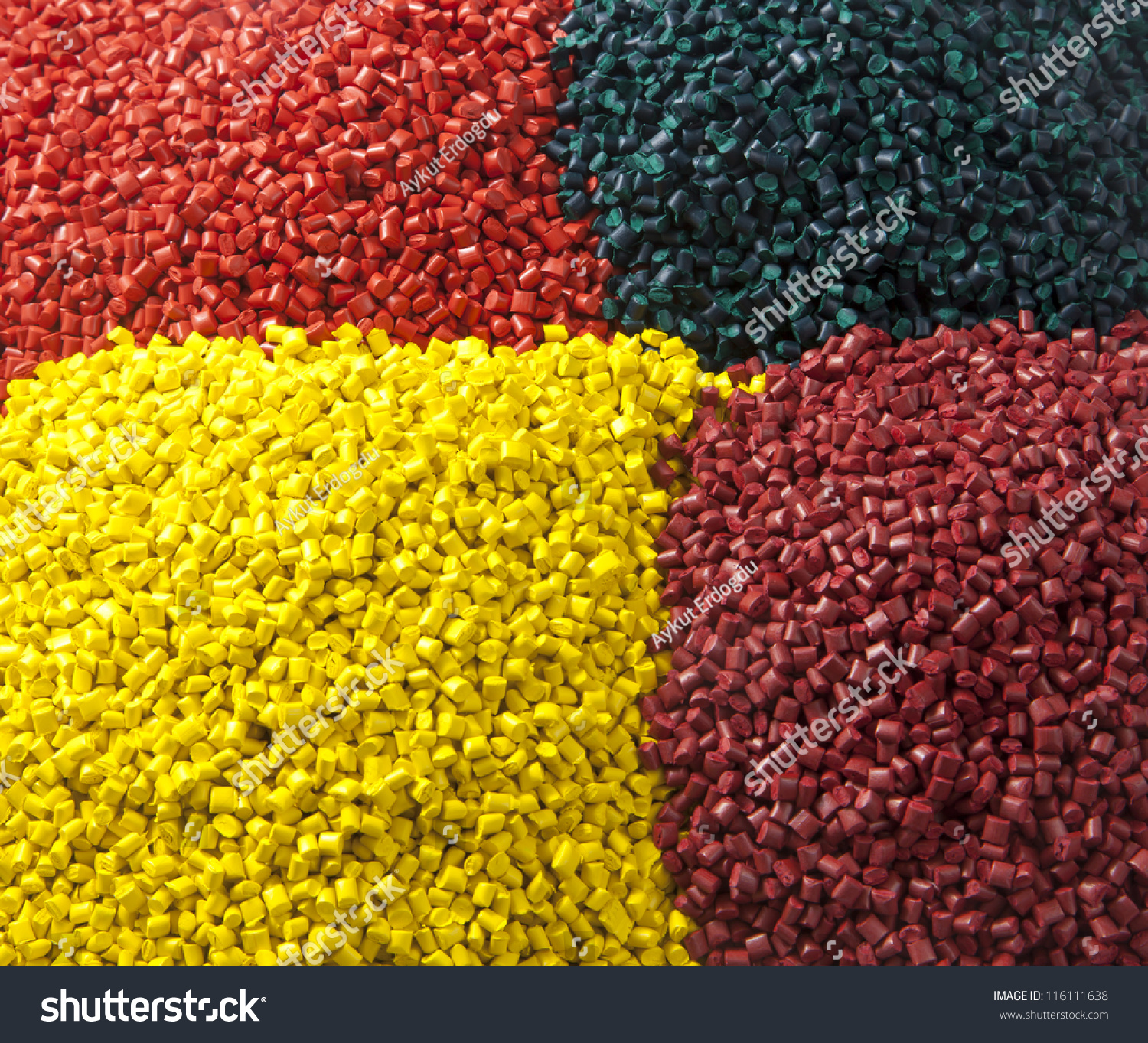 Stock Photo Colourful Plastic