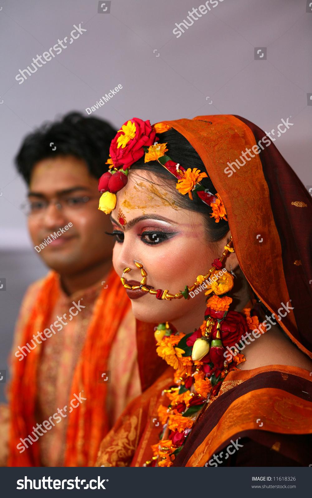 Traditional Bangladeshi Wedding Dhaka Bangladesh Stock Photo (100 ...