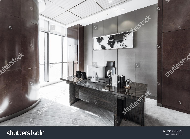 Modern Luxury Offices Stock Photo Edit Now 1161921061