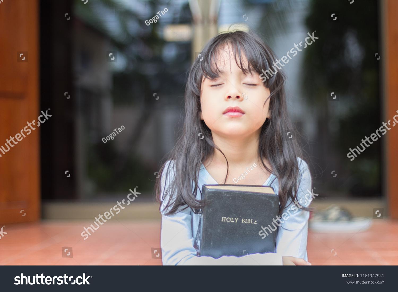 Cute Little Asian Girl Long Hair Stock Photo Edit Now 1161947941