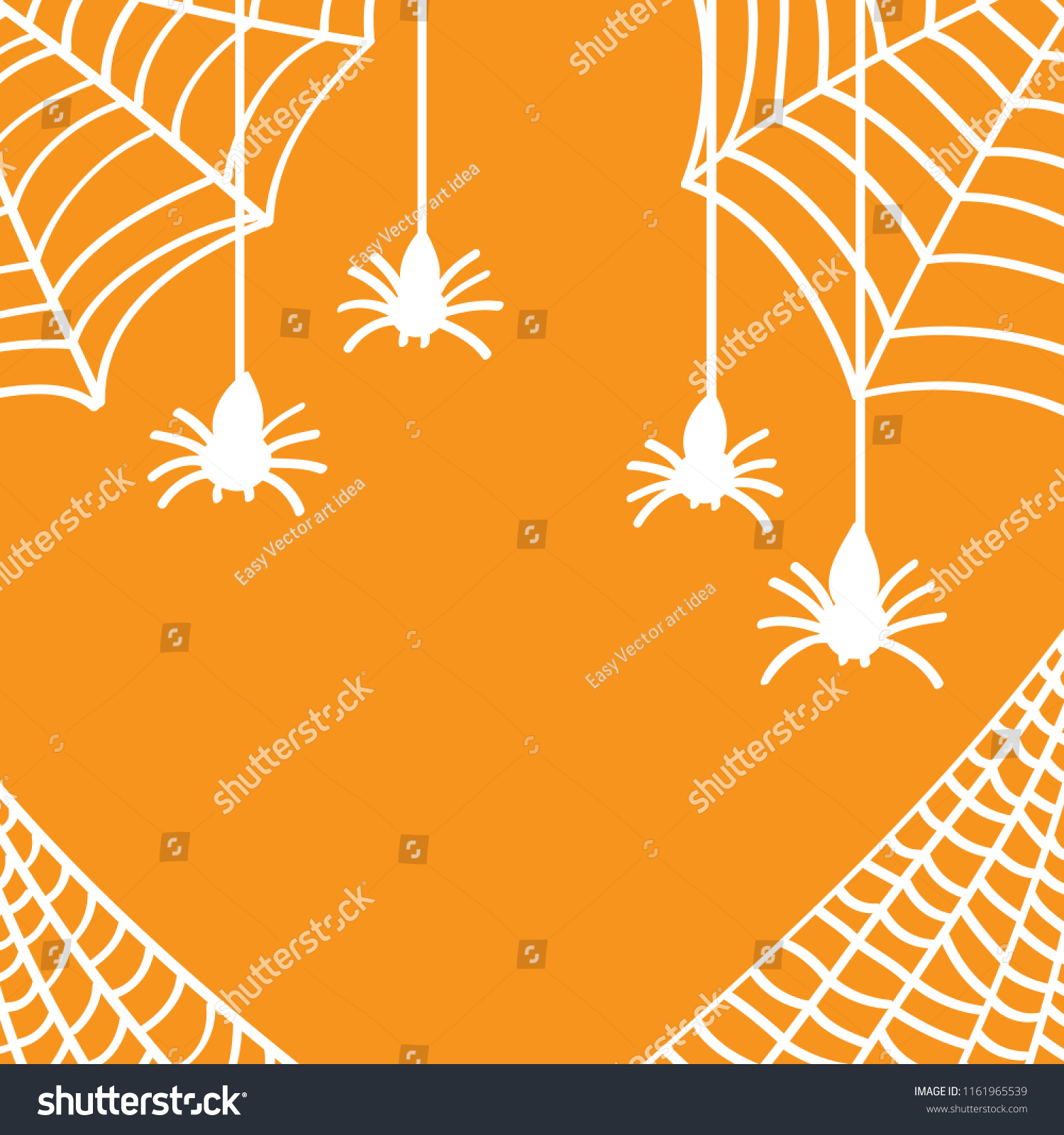Spider Web Background Wallpaper Halloween Drawing Stock