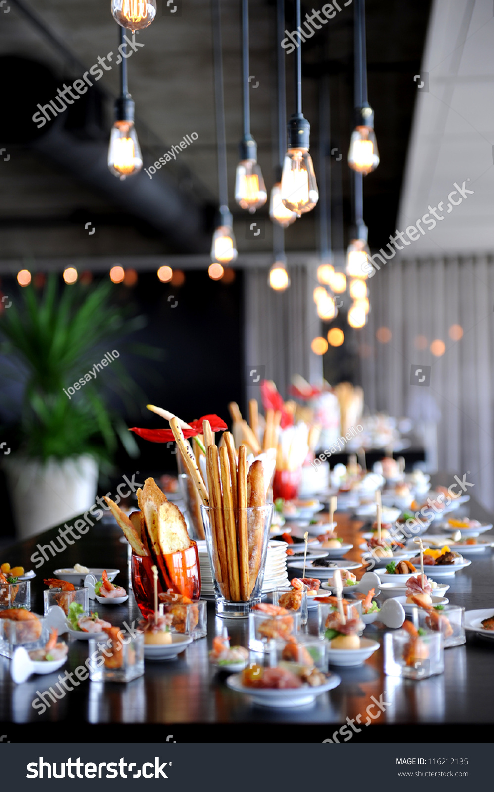 Restaurant cocktail tables cocktail party stock photo for Cocktail tables party