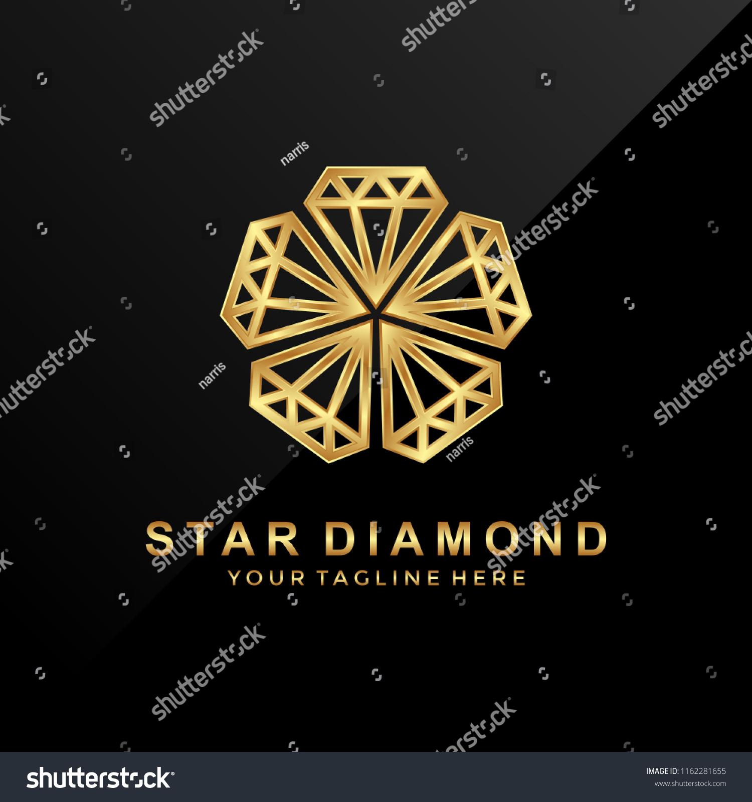 Stock vektory na téma Diamond Logo Glamour (bez autorských poplatků ... da802a6cd1