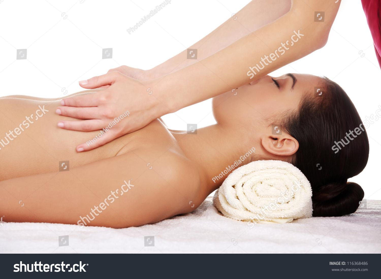 Relaxing boob massage