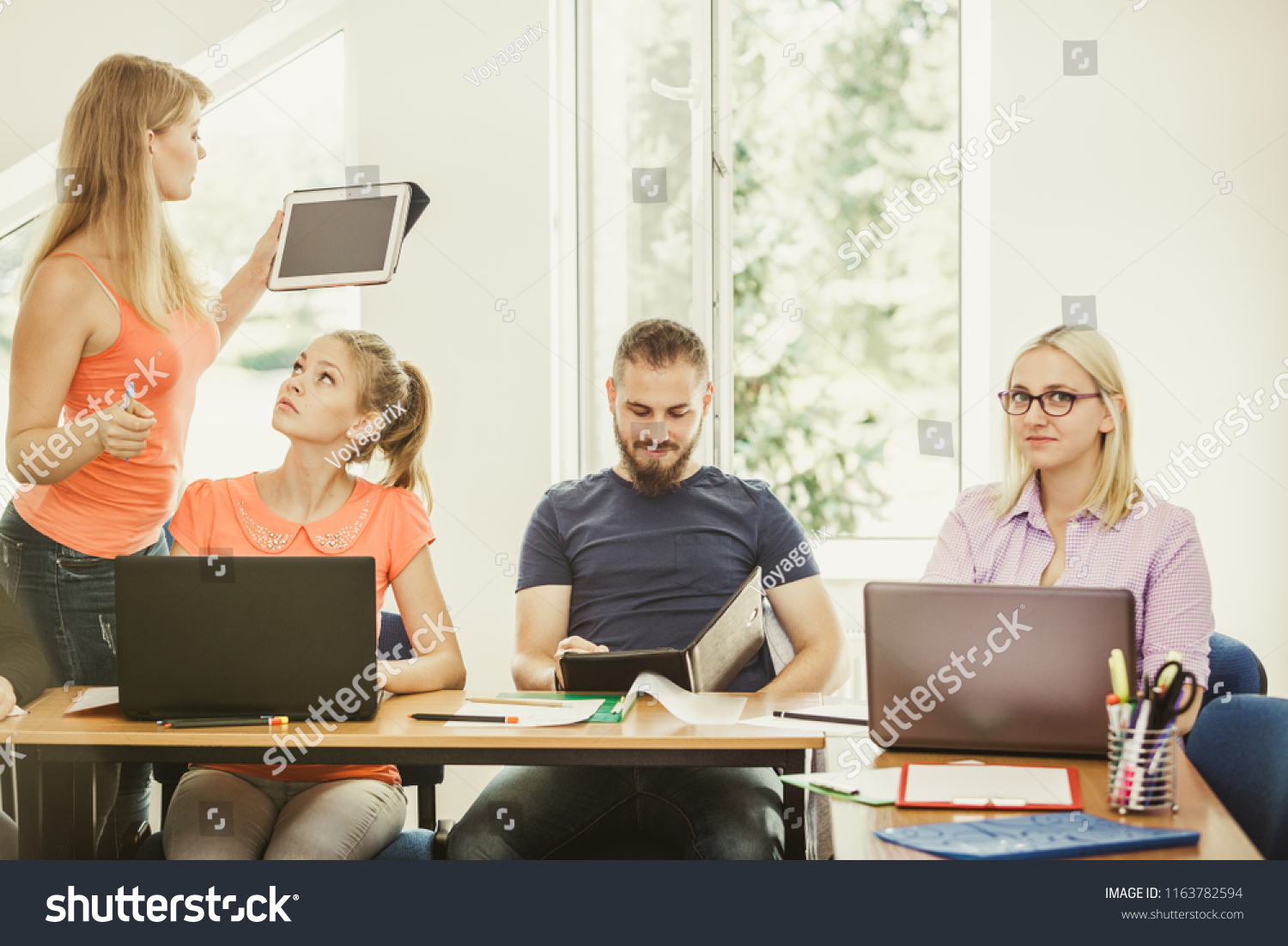 Teaching adult using technology the