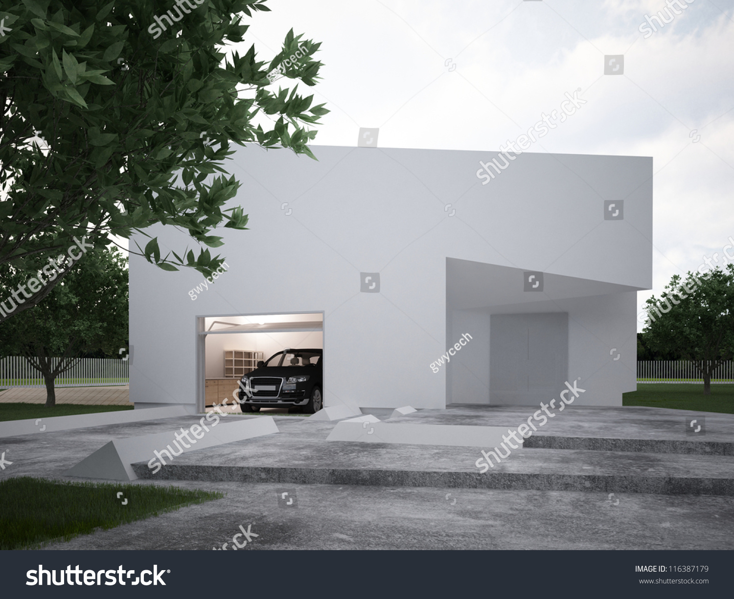 Modern House Design ontemporary rchitecture Hi Stock ... - ^
