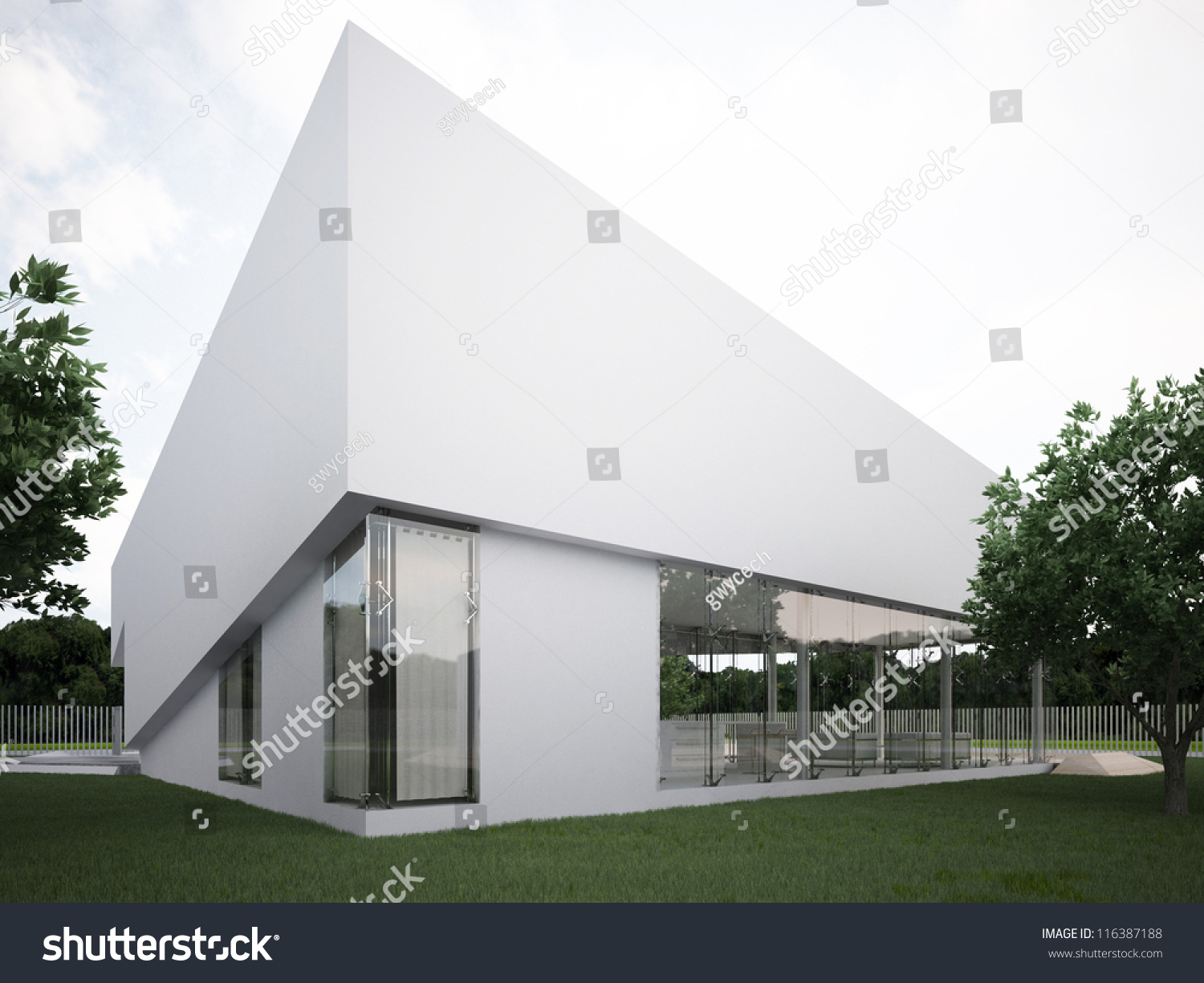 Modern House Design Contemporary Architecture Hi Stock