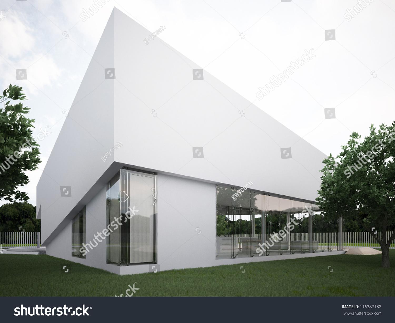 Modern House Design Contemporary Architecture Hi Stock