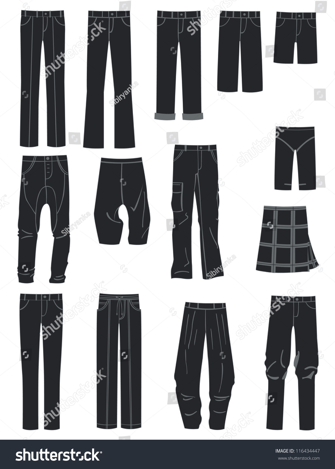 Different Styles Of Pants For Men