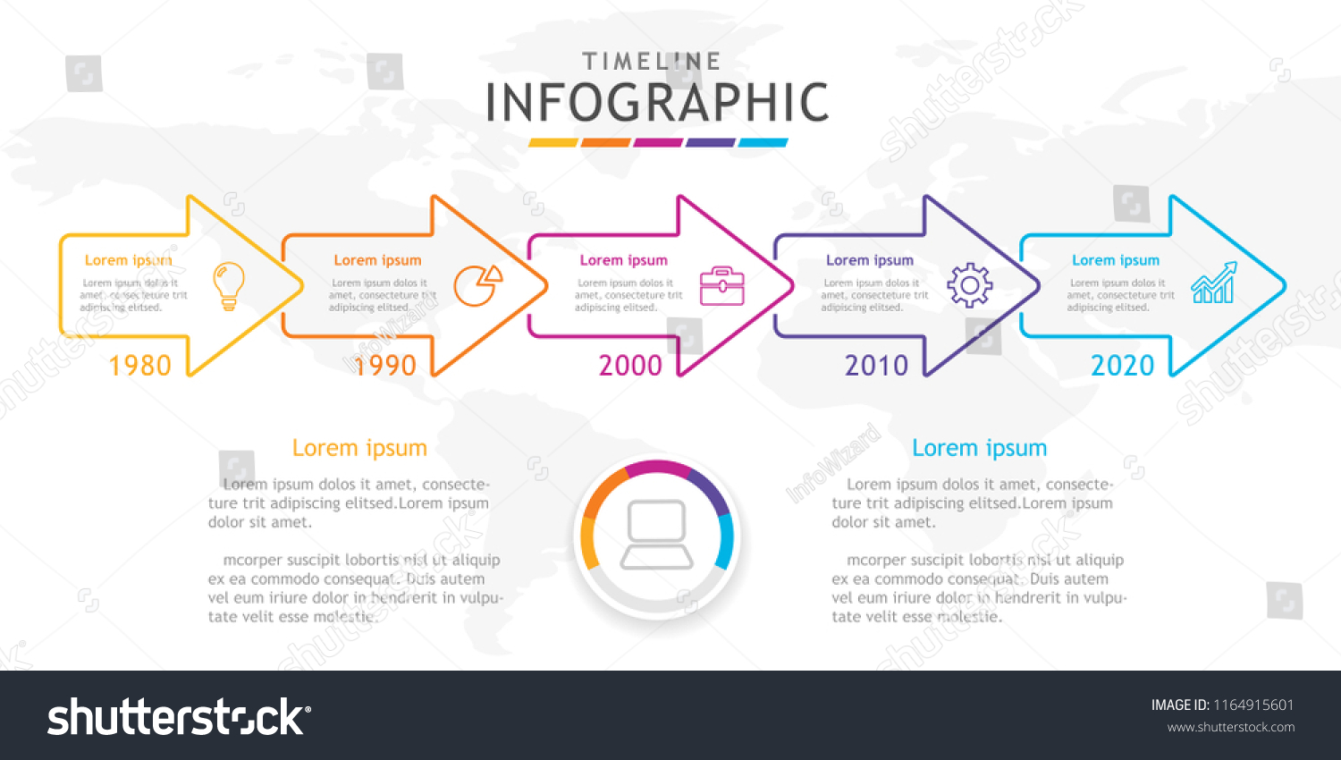Roadmap Infographic Template. release product roadmap ...