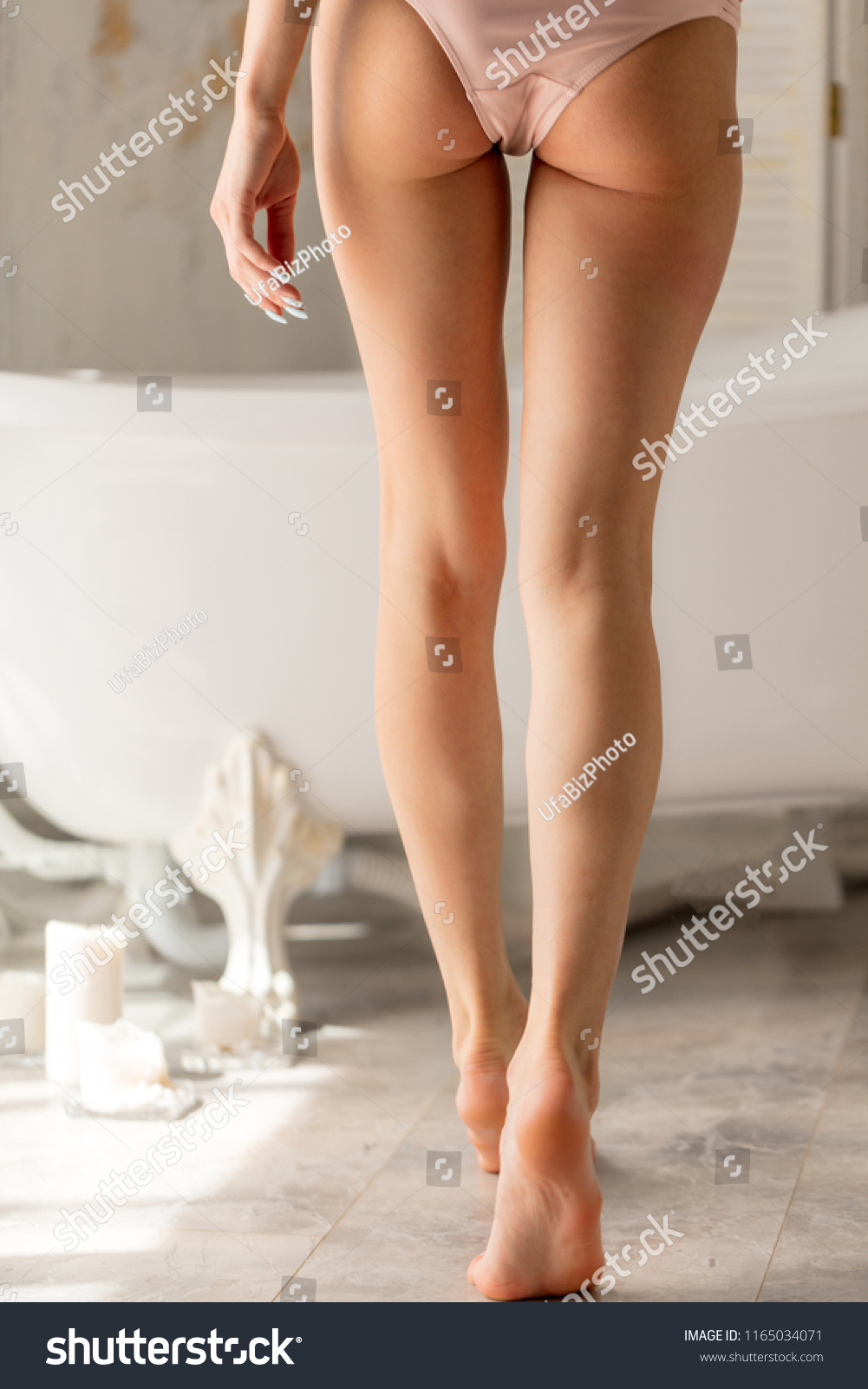 Women Log Legged Panties Jpg