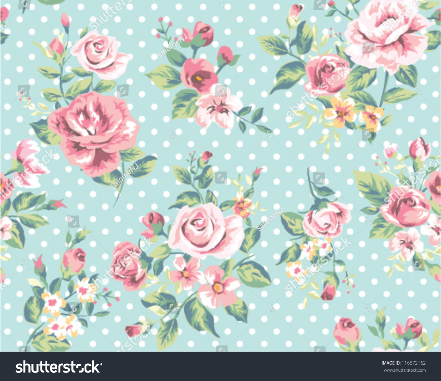 Wallpaper seamless vintage pink flower pattern stock vector wallpaper seamless vintage pink flower pattern on brown background mightylinksfo