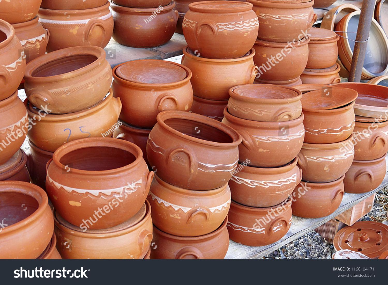 Turkey Anatolia Water Jug Types Clay Stock Photo (Edit Now