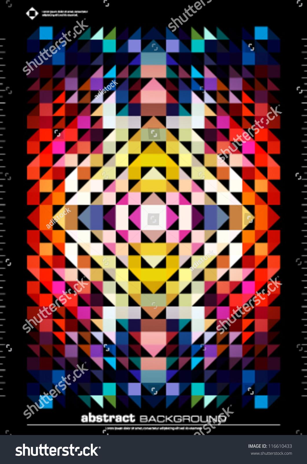 Trendy Poster Designs: Abstract Background Design Vector. Trendy Modern Design
