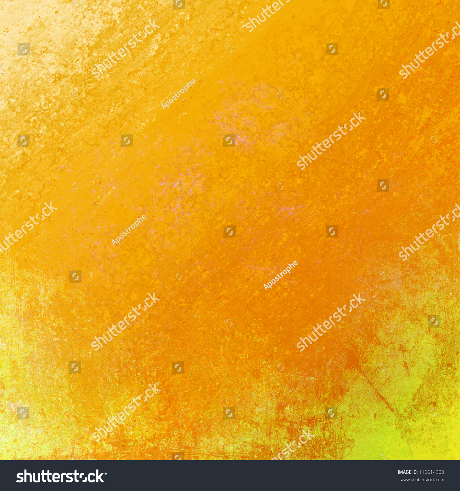 Abstract Yellow Background Gold Background Orange Stock