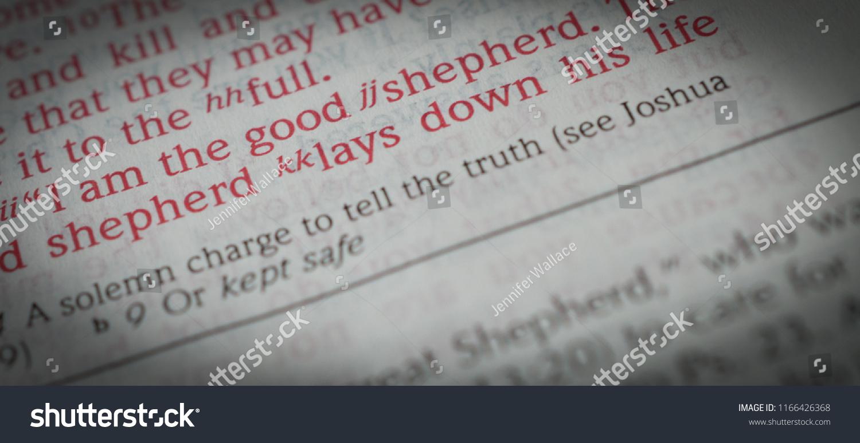 Norman Ok 8282018 Close Bible Verse Stock Photo Edit Now 1166426368