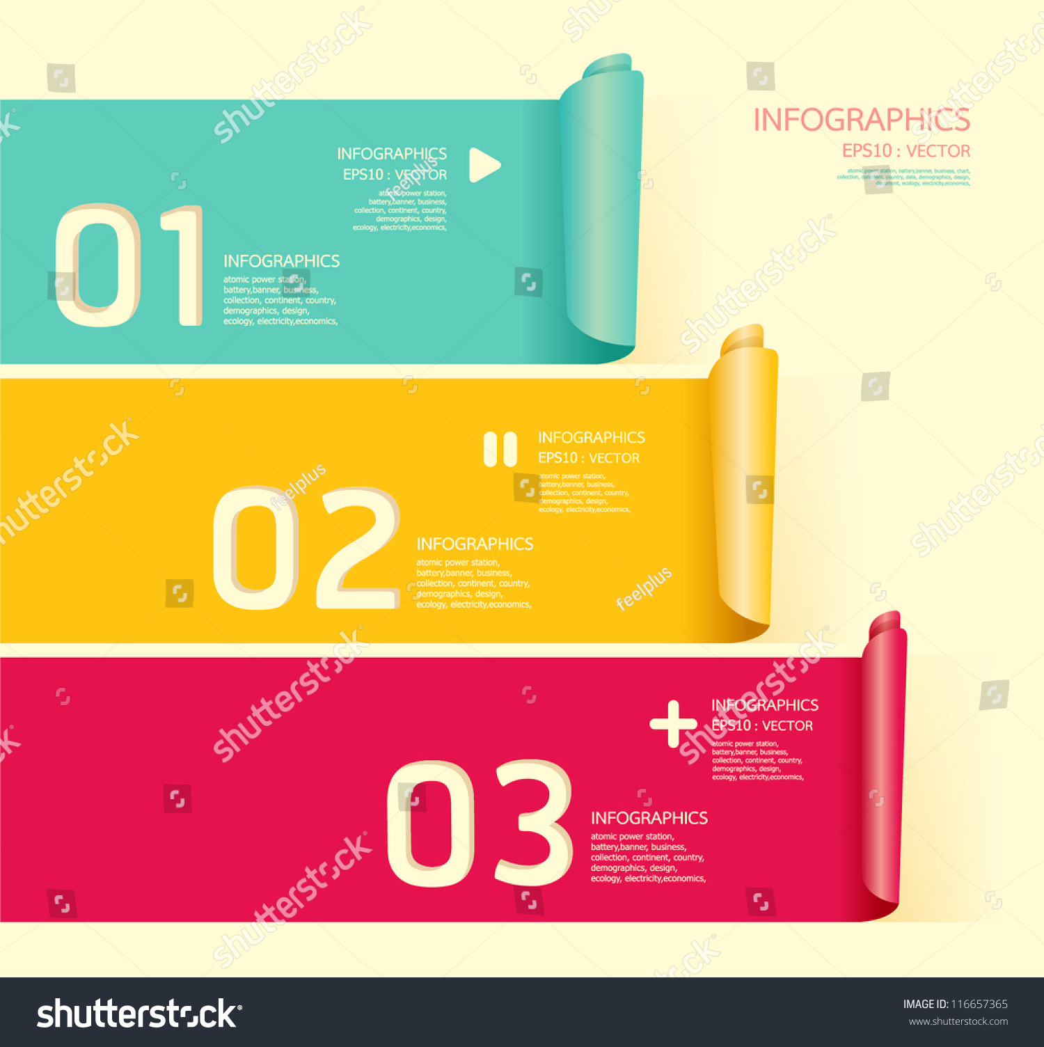 Modern Soft Color Design Template Can Stock Vector 116657365 ...