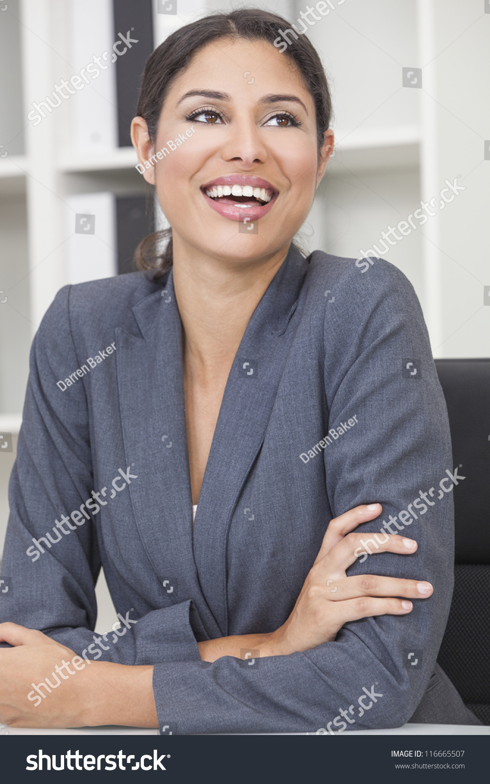 Small latina office suit