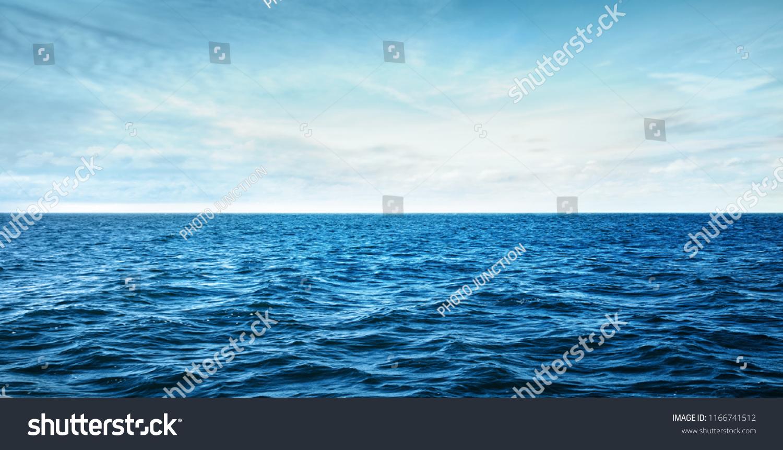 blue ocean waves #1166741512