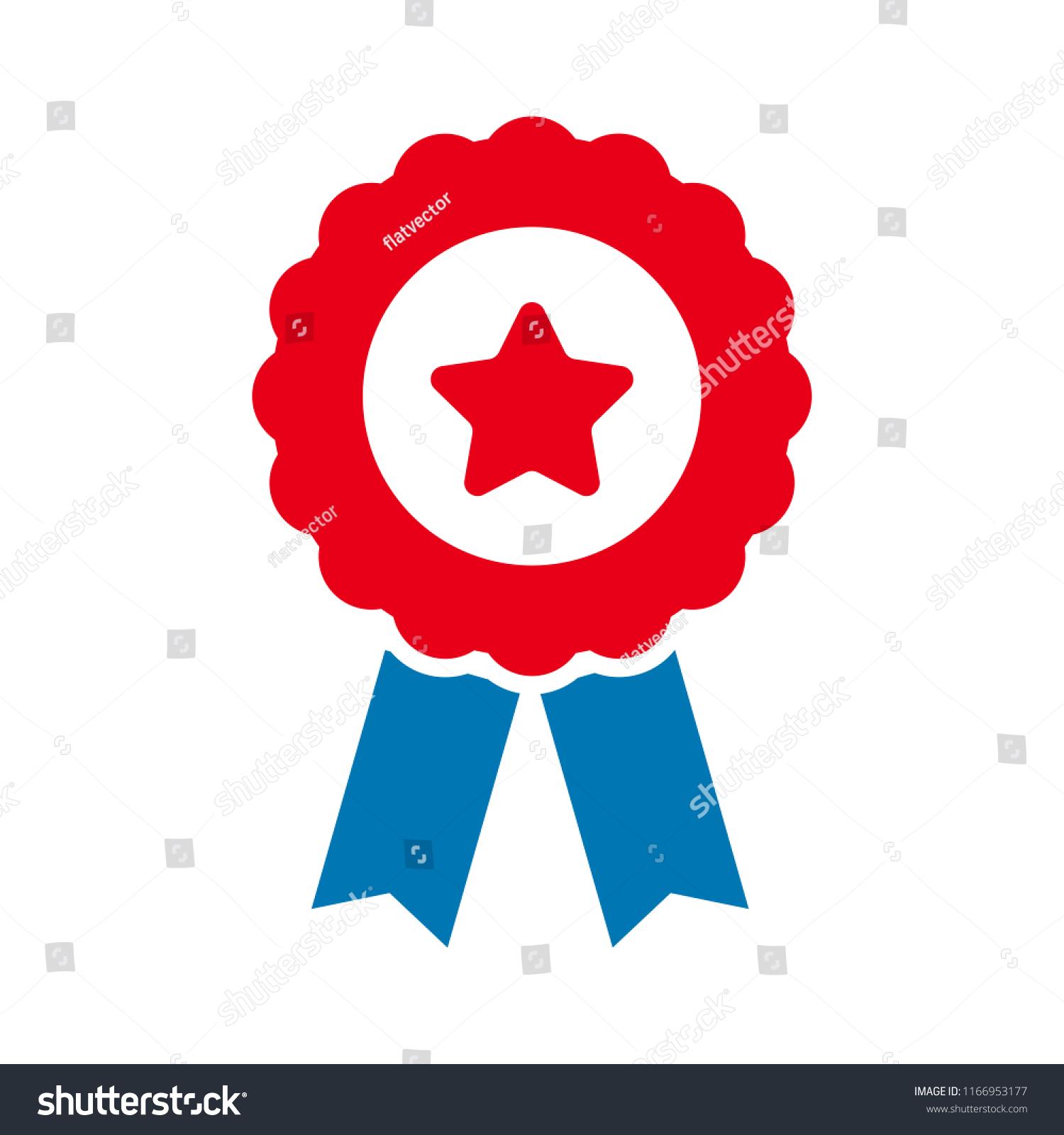 Certification Seal Icon Vector Award Badge Stock Vector Royalty