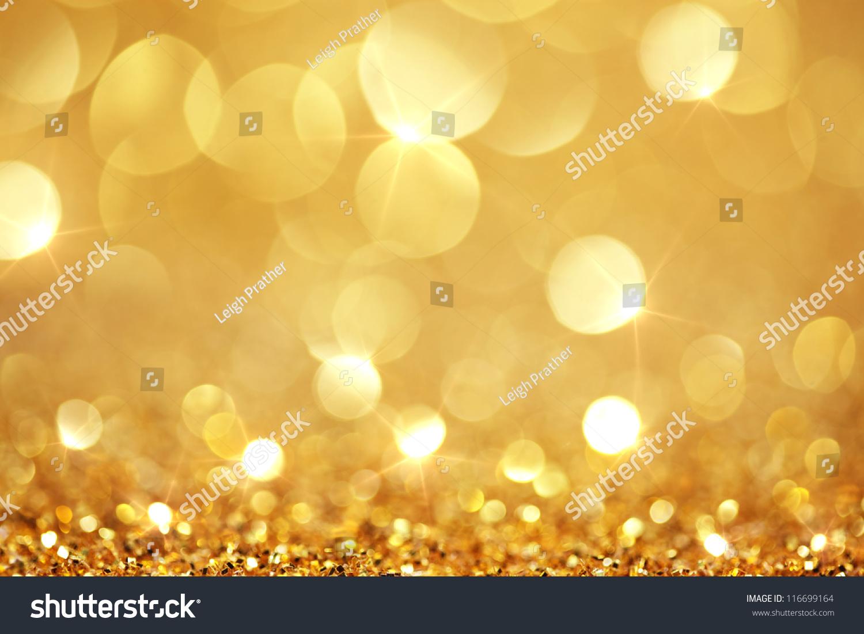 shiny golden lights stock - photo #1