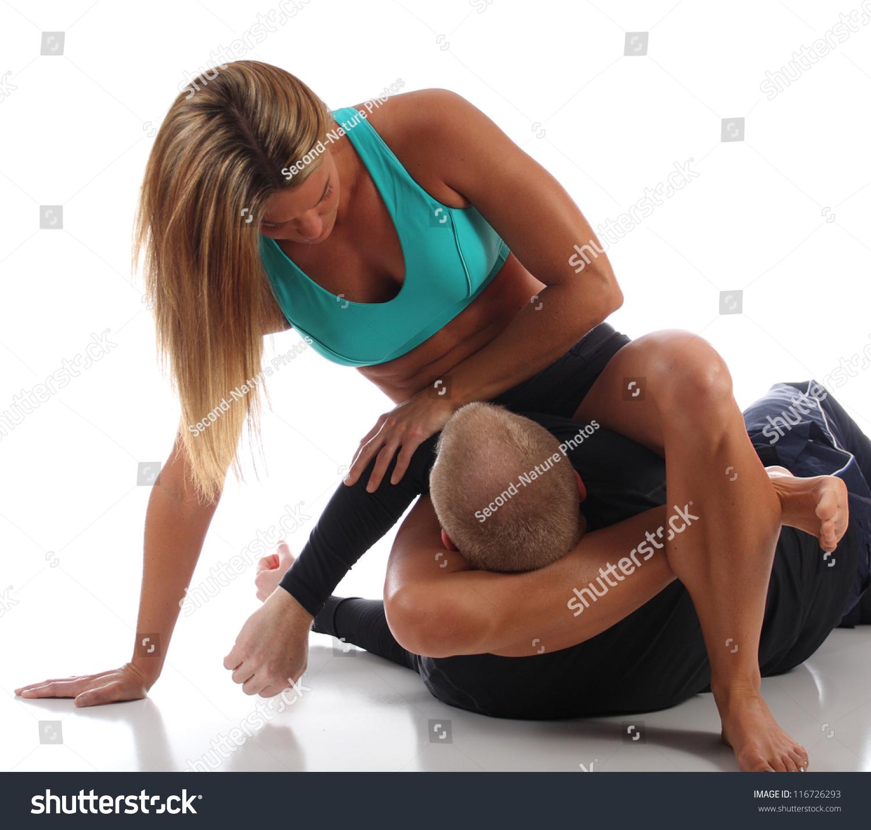 Muscle Karate Woman Video 24