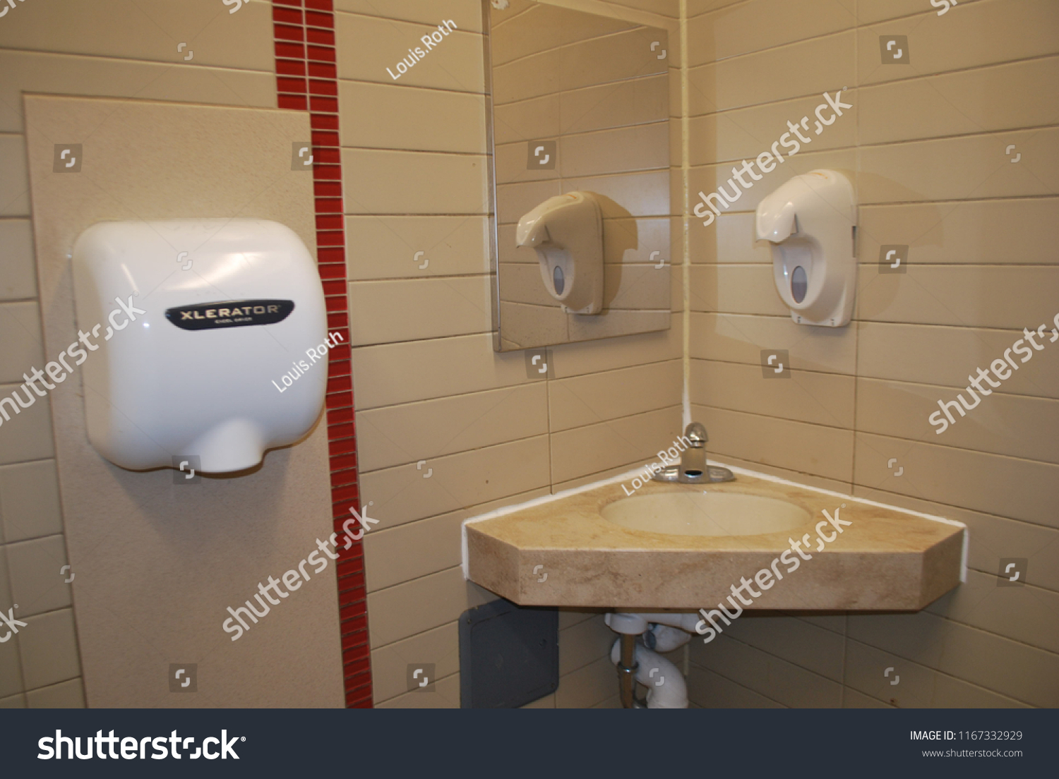 Public Restroom Dirty Toilet Washroom July Stock Photo (Edit Now ...