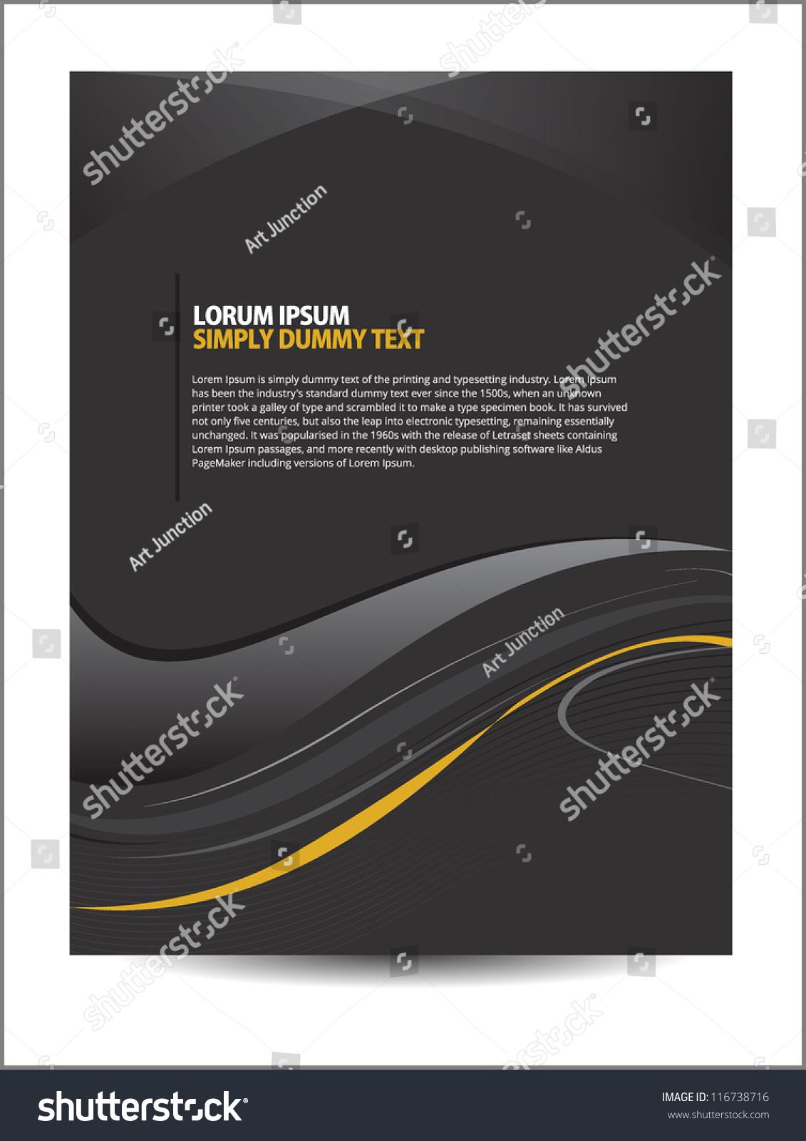 Professional Corporate Flyer Design Beautiful Design Vector – Professional Corporate Flyer