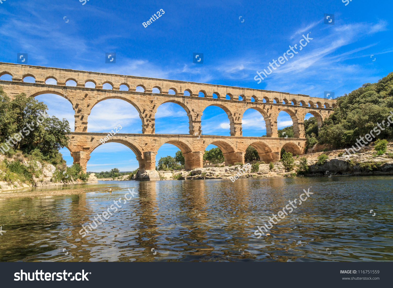 How Old Is The Aqueduct At Nimes 56