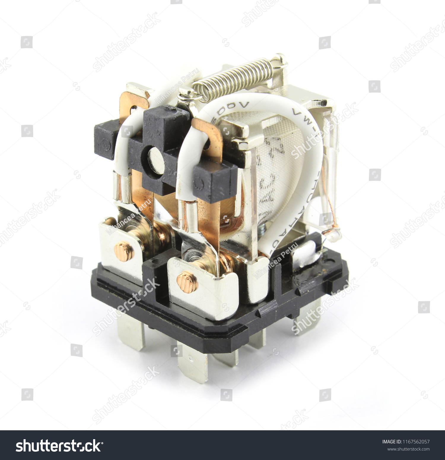 Electromagnetic Relay Switch Stock Photo Edit Now 1167562057 Images