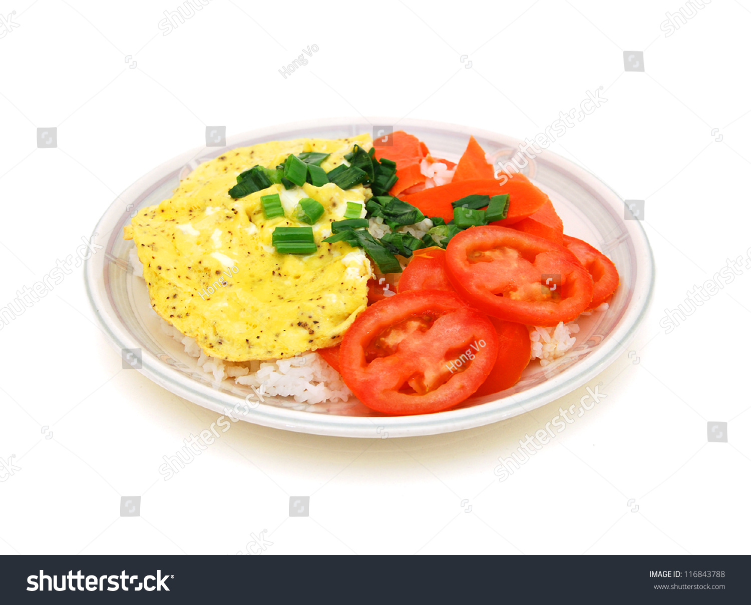 how to cook egg omelette rice