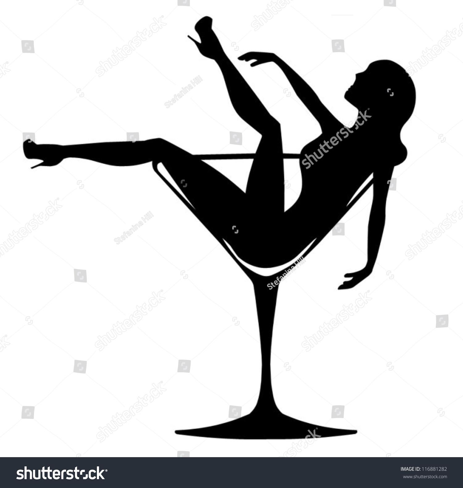 girl in cocktail